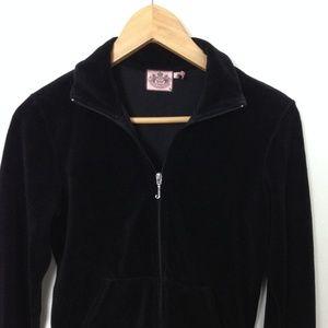 Juicy Couture Black M Women Full Zip Jacket